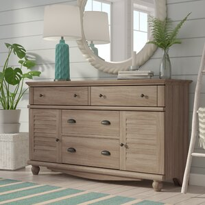 Pinellas 4 Drawer Dresser by Beachcrest Home