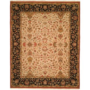 Compare & Buy Incheon Hand-Woven Beige/Black Area Rug By Meridian Rugmakers