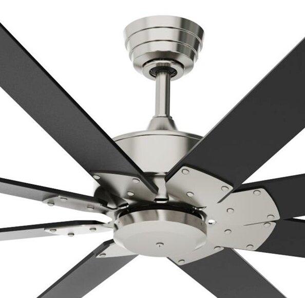 Fanimationlevon Custom 8 Blade Ceiling Fan With Remote