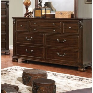 Fleur De Lis Living Bucholz Traditional 5 Drawer Dresser Image
