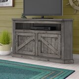 Benji Solid Wood Corner TV Stand for TVs up to 65 by Longshore Tides