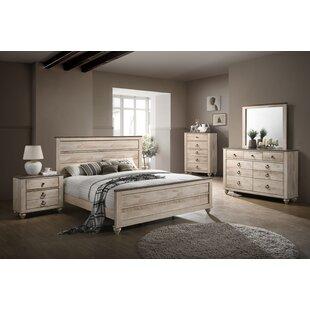 Gracie Oaks Church Street Queen Panel Configurable Bedroom Set