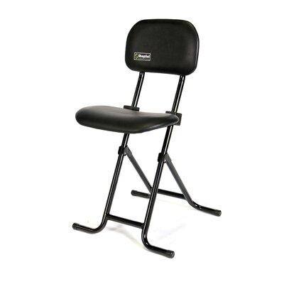 Height Adjustable Folding Sit Stand Stool