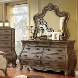 Kaylynn 9 Drawer Dresser with Mirror