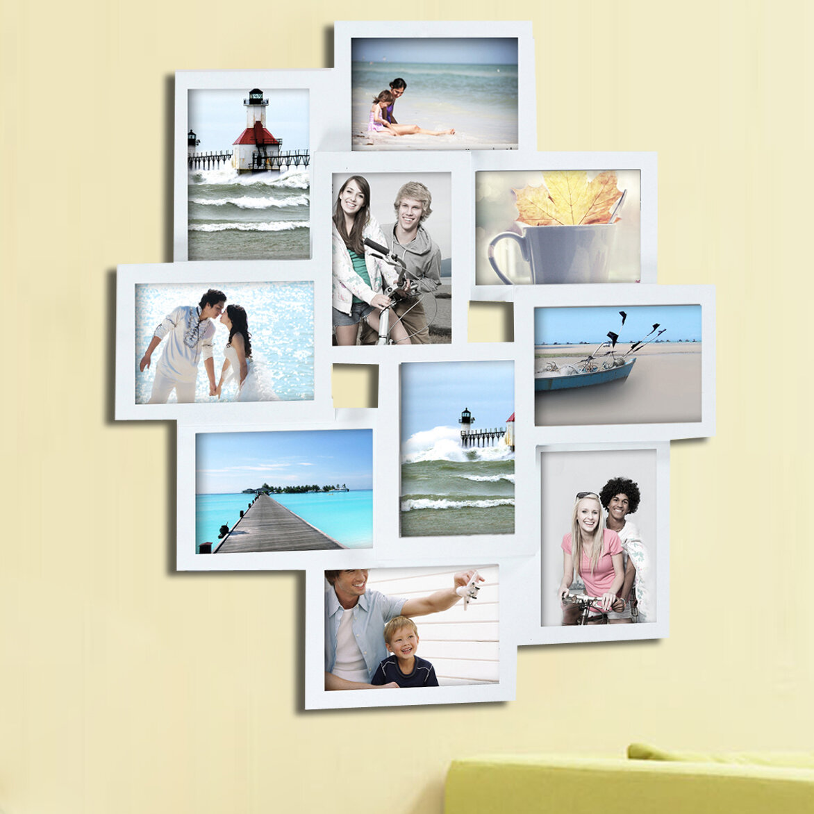 Pilcher 10 opening collage picture frame reviews birch lane jeuxipadfo Image collections