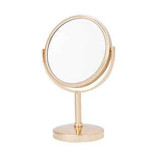 Reviews Hilda 5x Magnify Classic Makeup Mirror By Red Barrel Studio