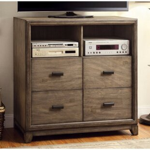 Foundry Select Bennet Media 4 Drawer Chest