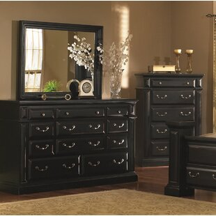 Newark 11 Drawer Dresser with Mirror
