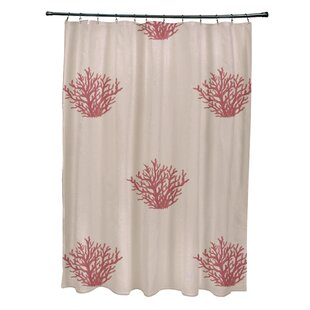 Coastal Calm Single Shower Curtain