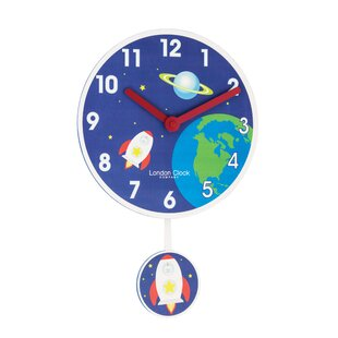 Rocket Wall Clock by London Clock Company