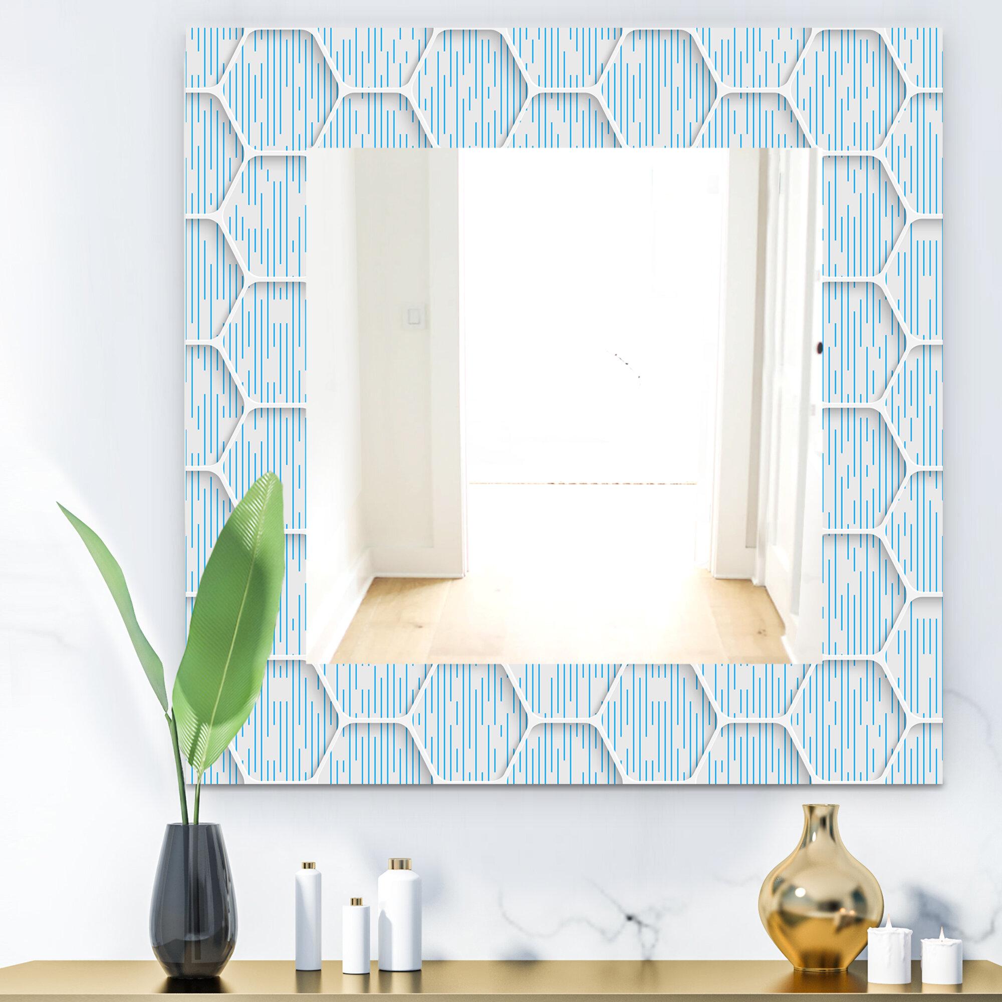 East Urban Home Scandinavian 26 Mid Century Modern Bathroom Vanity Mirror Wayfair