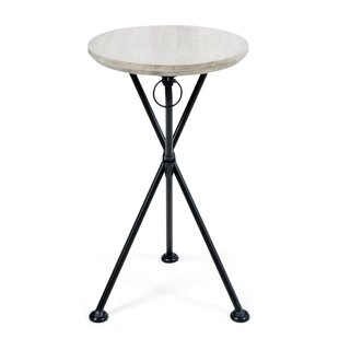 Marlatt Folding Wooden Side Table