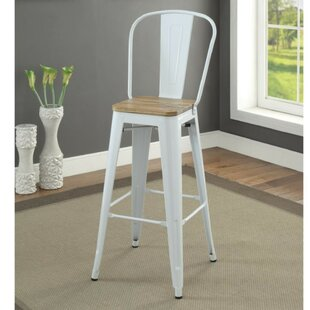 Smyth Modern Metal Frame Bar Armless Bar Stool Gracie Oaks