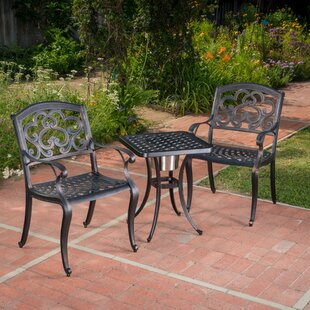 Riesel 3 Piece Bistro Set