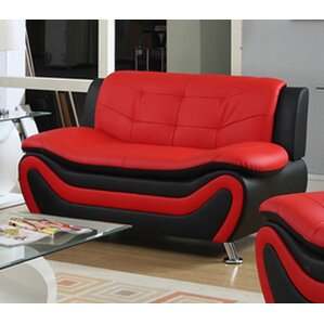 Roselia Modern Living Room Loveseat by PDAE Inc.