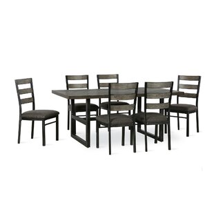 Comstock 7 Piece Dining Set Union Rustic