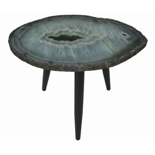 Bilgarrie Wood/Metal End Table