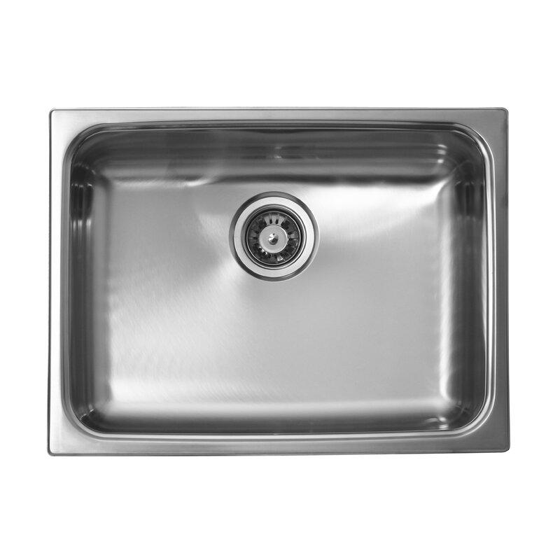 24   x 18   undermount kitchen sink ukinox 24   x 18   undermount kitchen sink  u0026 reviews   wayfair  rh   wayfair com