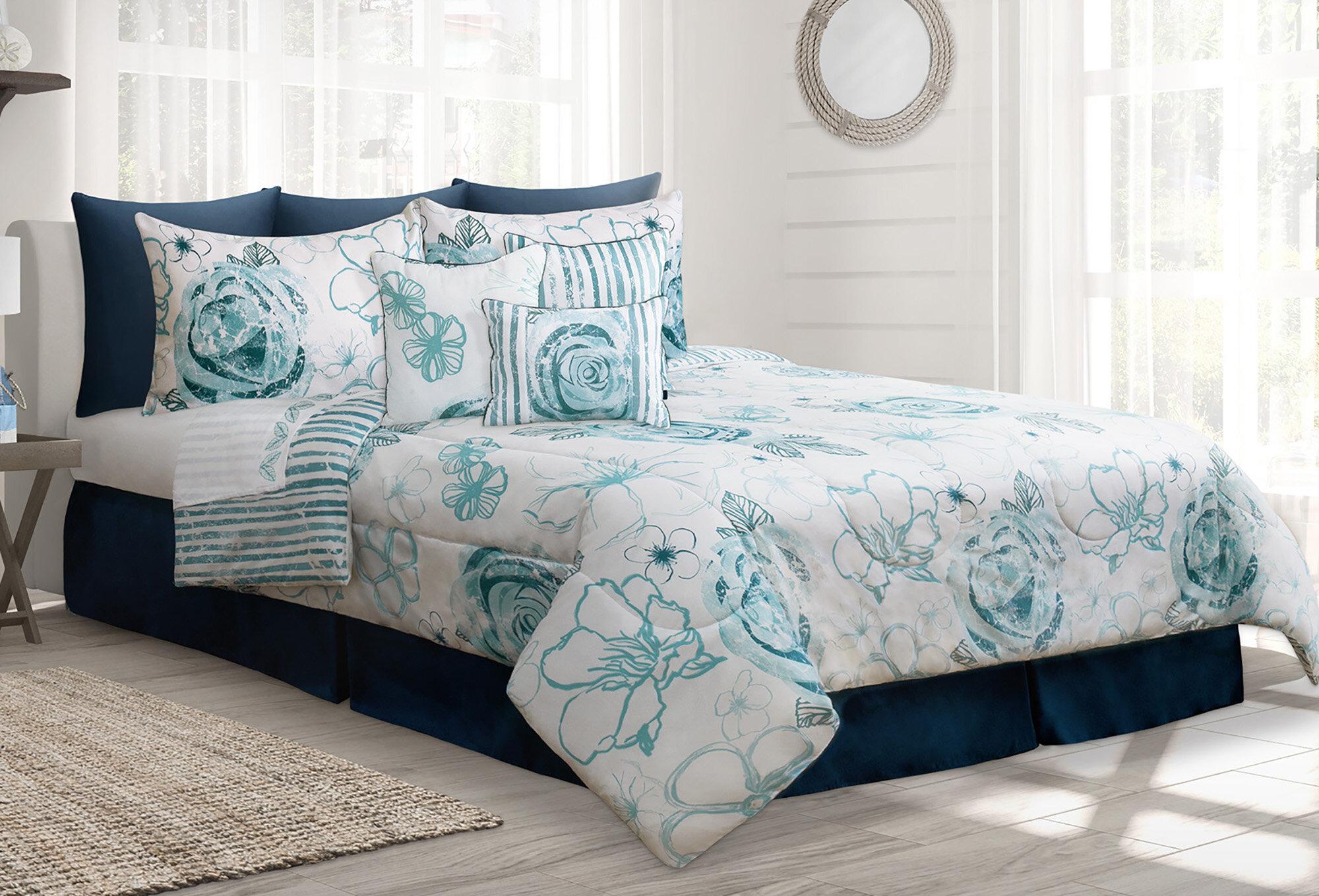 Winston Porter Roselia Reversible Comforter Set Reviews Wayfair