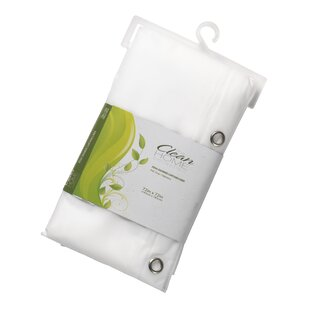 Read Reviews PEVA Shower Curtain Liner By Symple Stuff