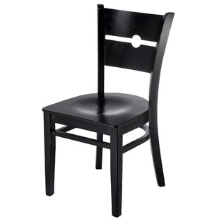 Winston Porter Northview Coin Solid Wood Dining Chair (Set of 2)