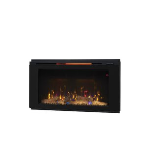 Troxell Wall Mounted Electric Fireplace by Latitude Run