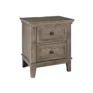 North Andover 2 Drawer Nightstand