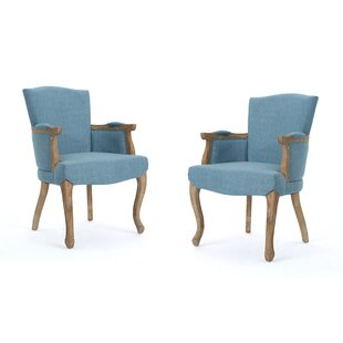 One Allium Way Prejean Upholstered Dining Chair (Set of 2)