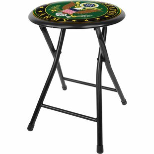 U.S Army 18 Bar Stool by Trademark Global