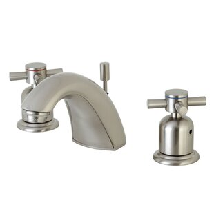 Concord Widespread faucet Bathroom Faucet with Drain Assembly By Kingston Brass