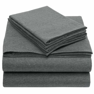 Fairlee Heather Solid Jersey Sheet Set (Set of 4)