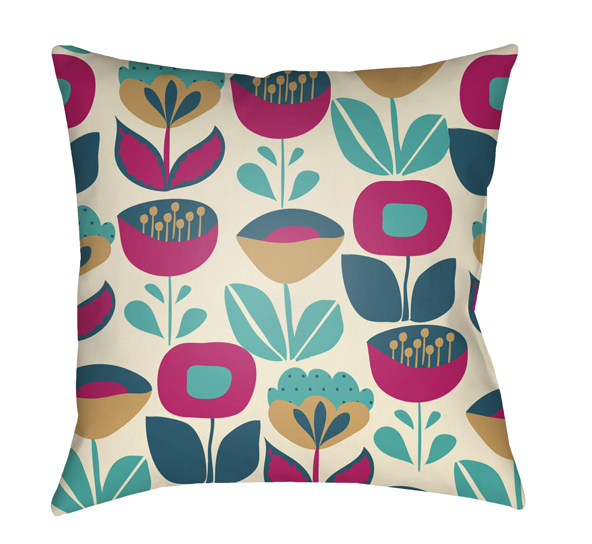 Floral Harriet Bee Throw Pillows You Ll Love In 2021 Wayfair