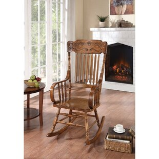 August Grove Paes Antique Rocking Chair