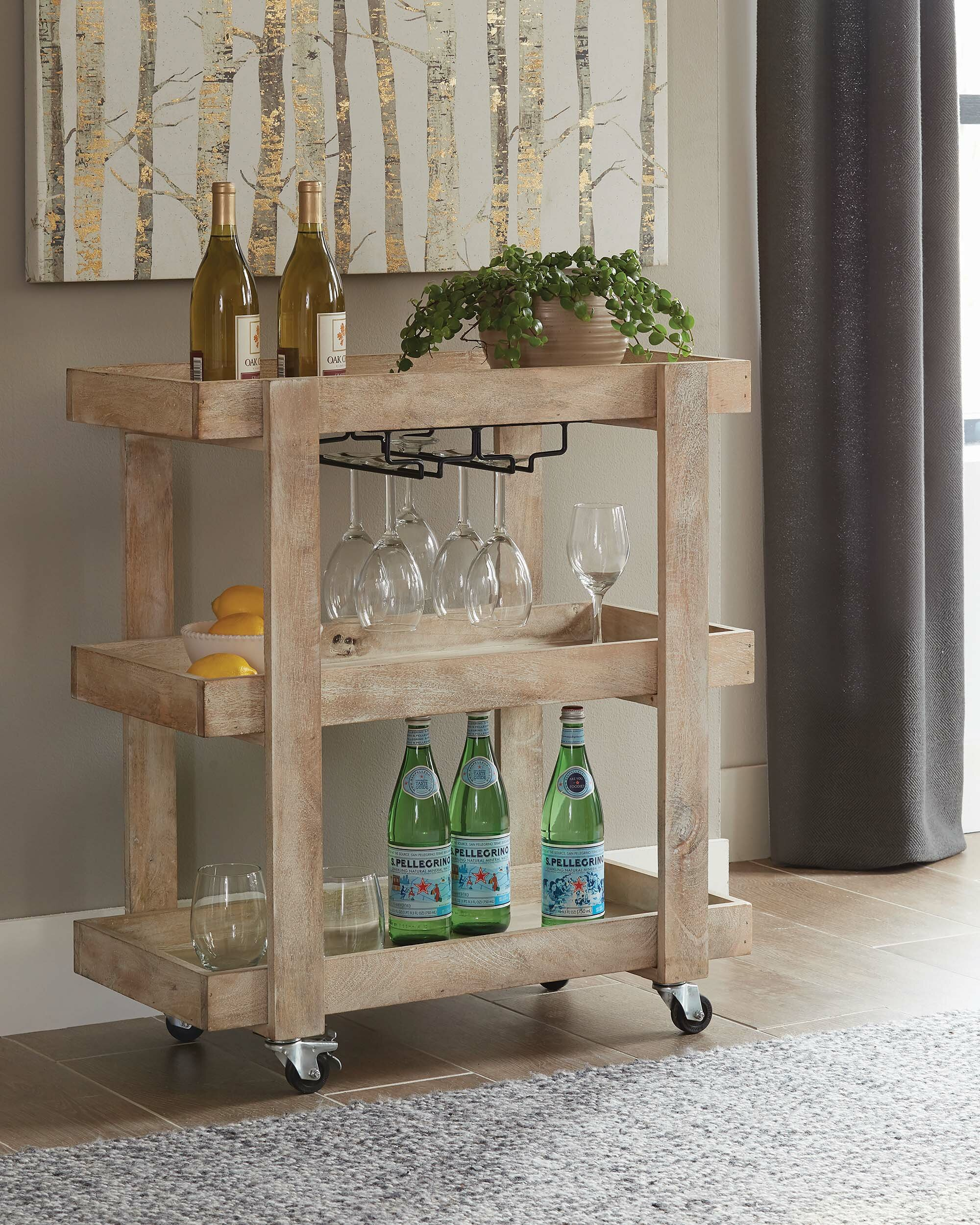Stjean 3 Tier Serving Bar Cart By Gracie Oaks