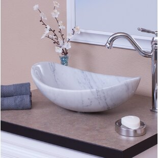 Novatto Carrera Stone Oval..