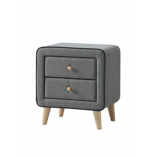 Balhi 2 Drawer Bedside Table By Mikado Living