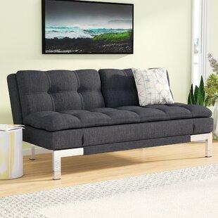 gerald convertible sofa modern futons   allmodern  rh   allmodern