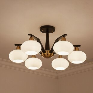 Commerce 6-Light Shaded Chandelier by Everly Quinn