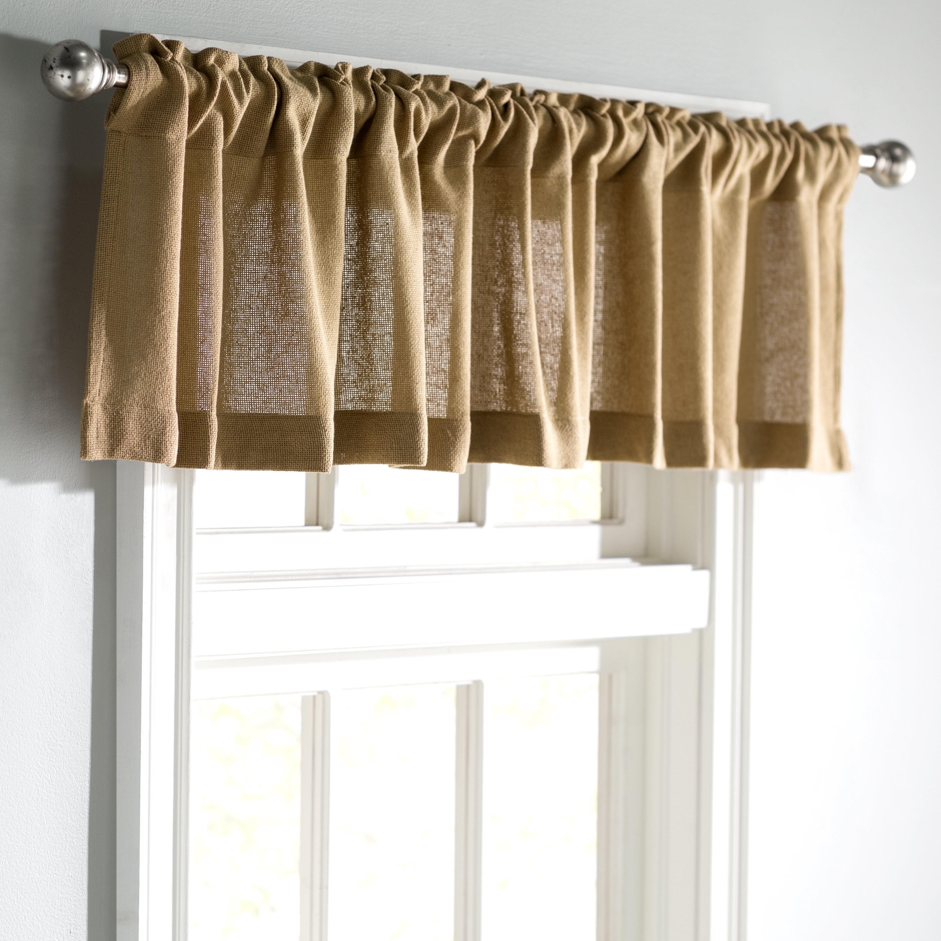 Violet Linen Heritage Window-Treatment-valances 60 X 15 Gold
