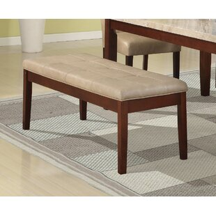 Kingswood Conventional Britney Wood Bench by Winston Porter