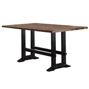 Amir Counter Height Solid Wood Dining Table