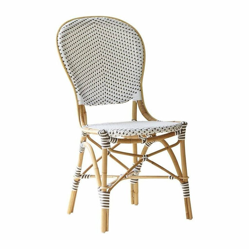 Affaire Isabell Stacking Patio Dining Chair