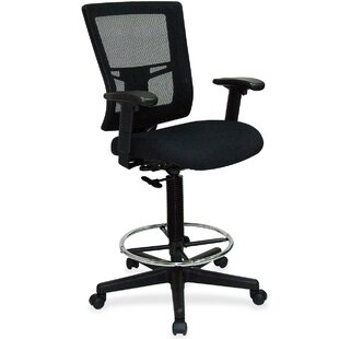 Breathable Mid-Back Mesh Drafting Chair