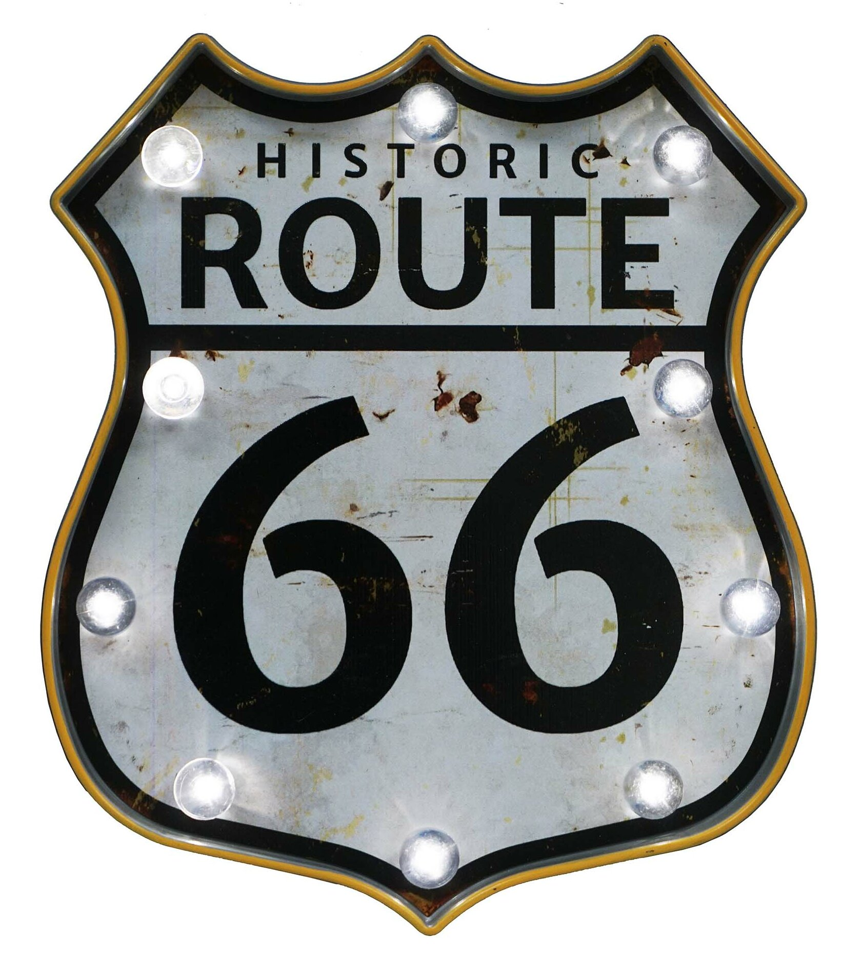 Williston Forge Led Lighted Route 66