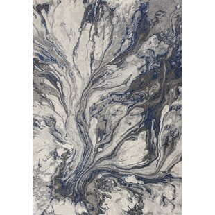 Kaia Gray Watercolors Area Rug