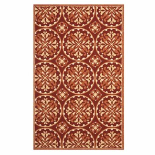 Carvalho Red Indoor/Outdoor Area Rug