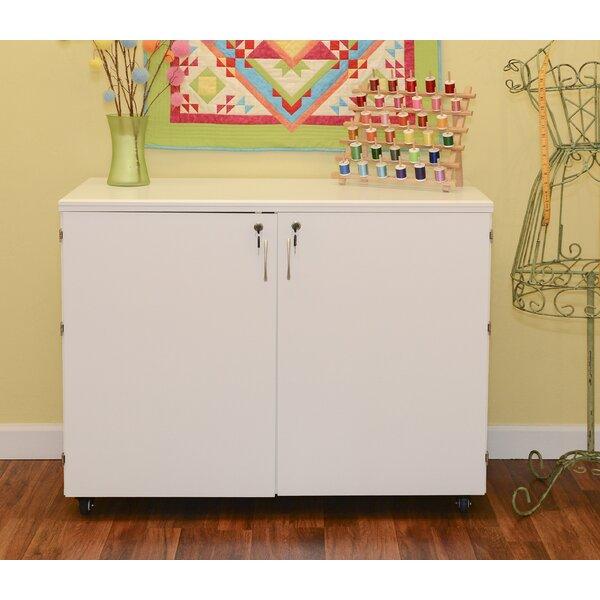 Kangaroo Cabinets 46 25 X 40 5 Foldable Crafting Storage Cabinet Reviews Wayfair