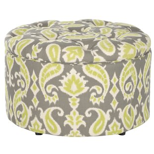One Allium Way Lenore Storage Ottoman