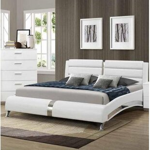 Read Reviews Gibby Upholstered Platform Bed by Orren Ellis Reviews (2019) & Buyer's Guide