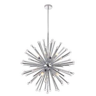 Orren Ellis Tenino 8-Light Sputnik Chandelier